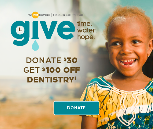 Donate $30, Get $100 Off Dentistry - Vacaville Dentistry and Orthodontics